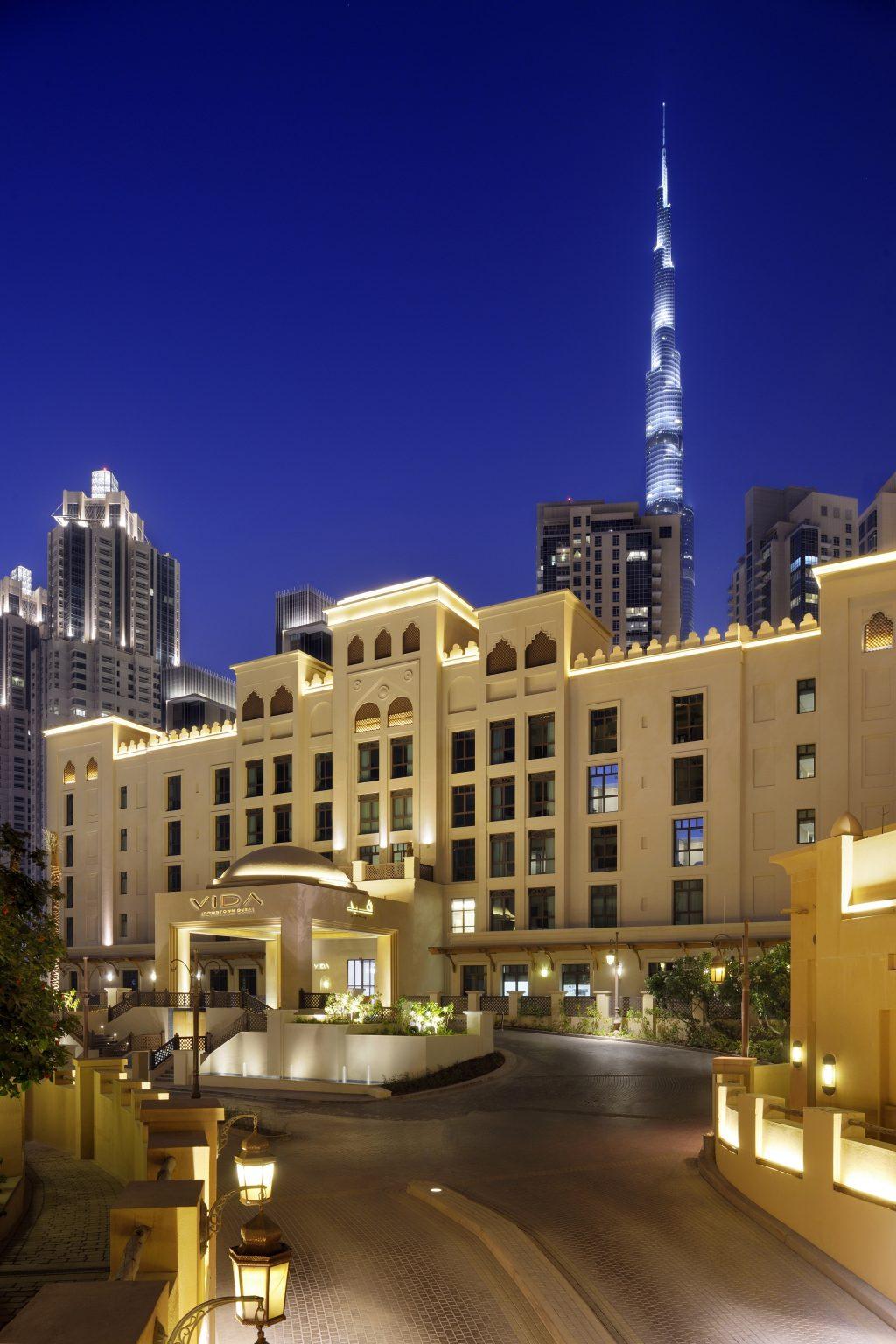 A review of dubai s vida downtown dubai savoir flair for Hotels in downtown dubai