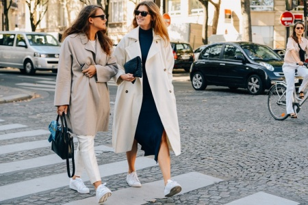 ee078303424 Outfit Ideas  How to Wear Sneakers to Work - Savoir Flair