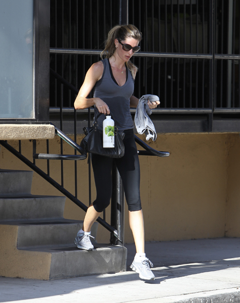 Celebrity Gym Style: Gisele Bündchen, Nicole Richie, and More
