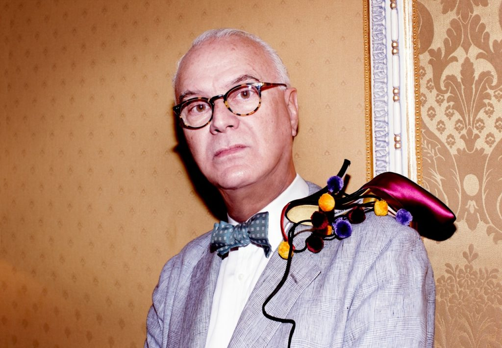 5 Minutes With Shoe Maestro Manolo Blahnik