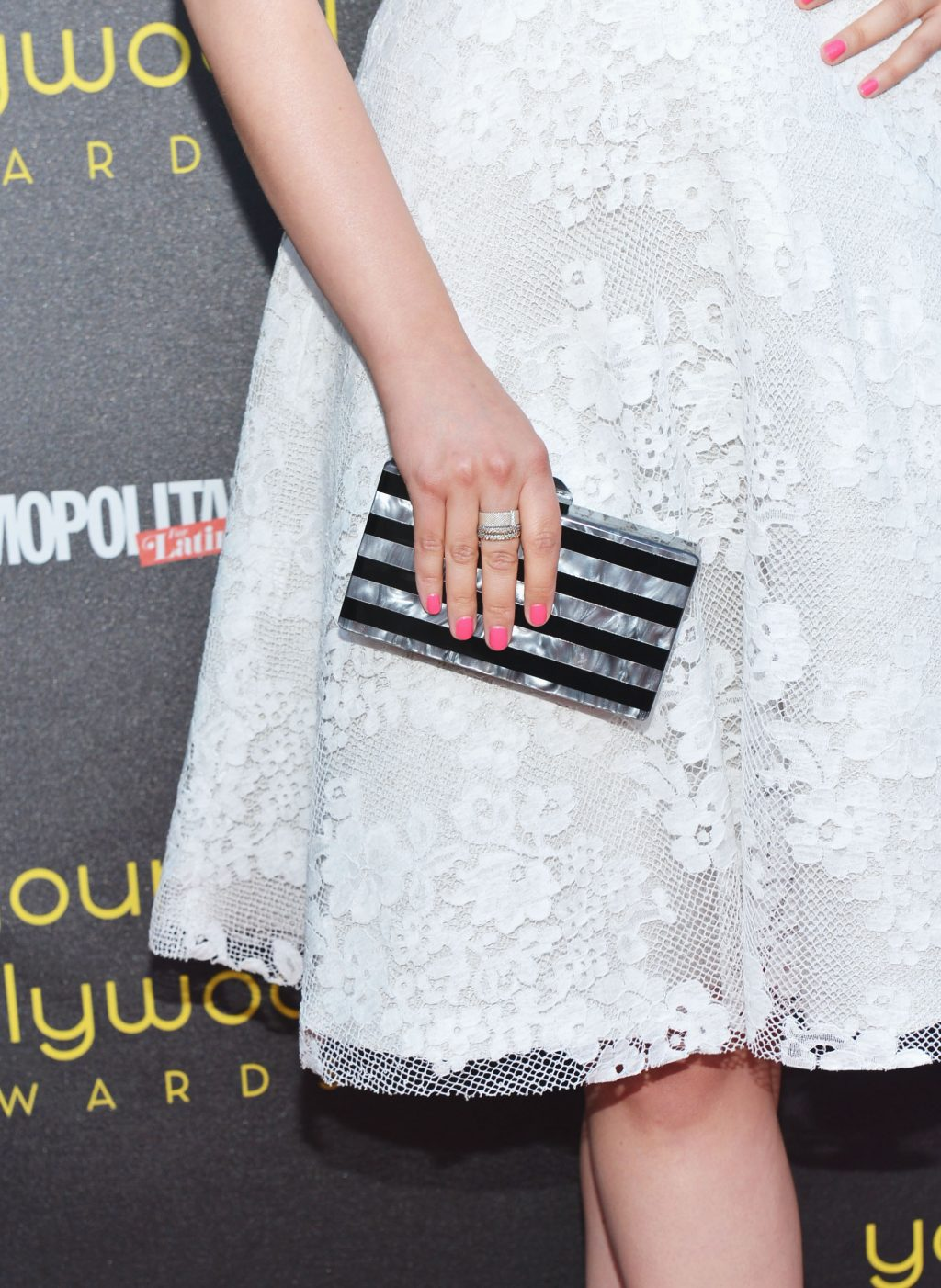 How They Wear... An Edie Parker Clutch