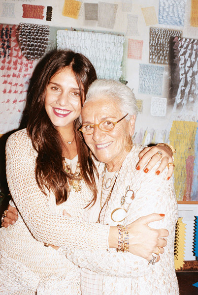 Inside the home of Rosita Missoni