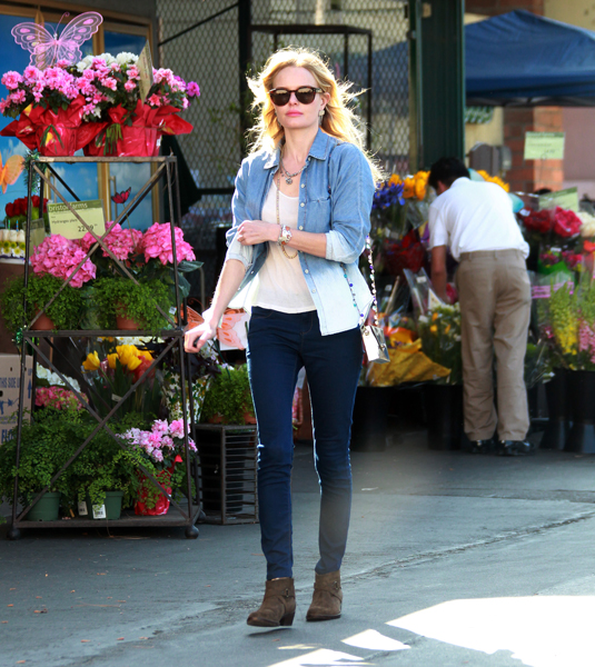 Street Chic: Celebrities in Denim
