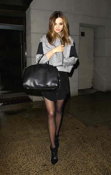 Street Chic: Miranda Kerr, Olivia Palermo, and more