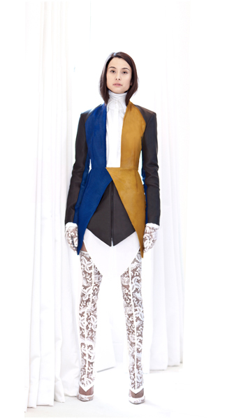 Exclusive First Look: Sarah Baadarani Fall/Winter 2013 Collection