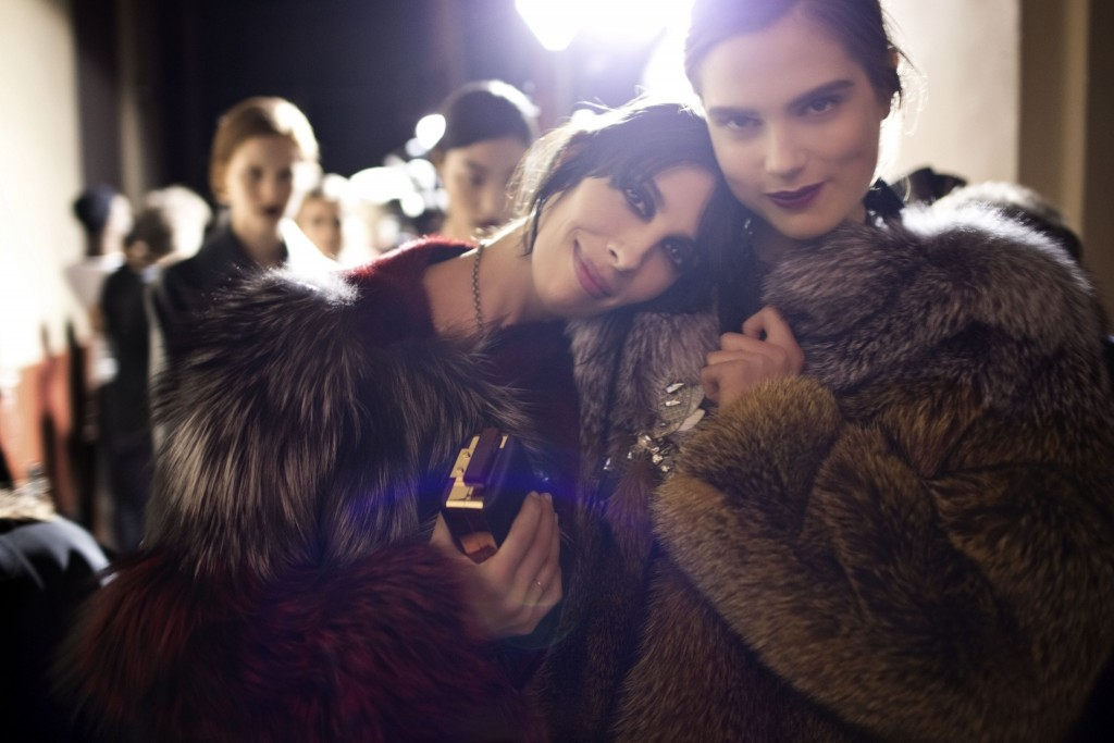 Video Exclusive: Backstage at Lanvin Fall/Winter 2013