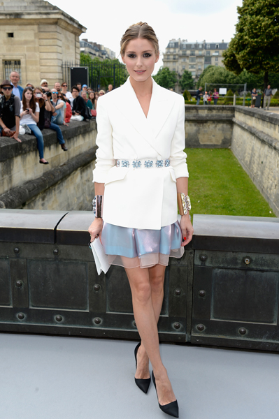 Celebrity Style, Front Row, Dior Couture, Paris Fashion Week, Olivia Palermo