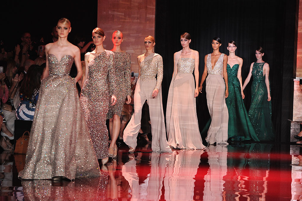 Paris Fashion Week Coverage: Elie Saab Fall 2013 Couture Collection