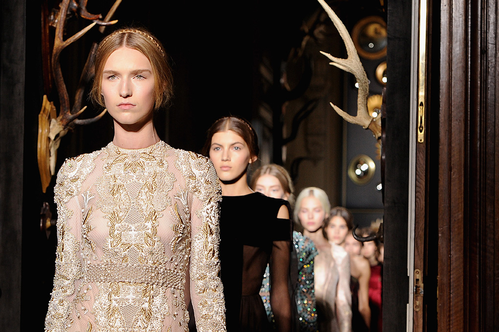 Paris Fashion Week Coverage: Valentino Fall 2013 Couture Collection