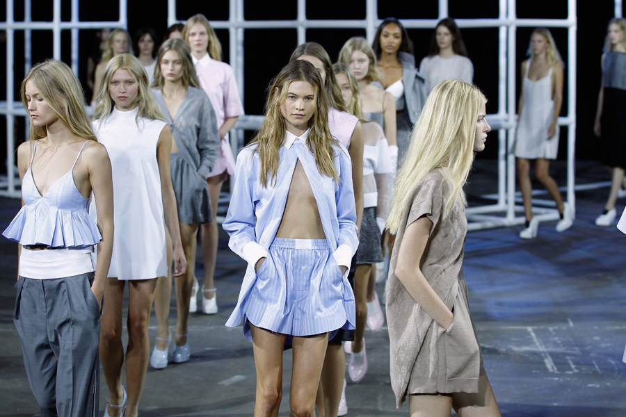 New York Fashion Week Coverage: Alexander Wang Spring 2014 Collection