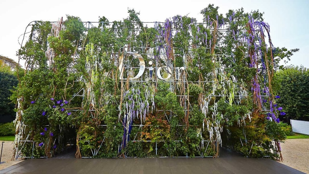 The Making of Dior's Hanging Gardens