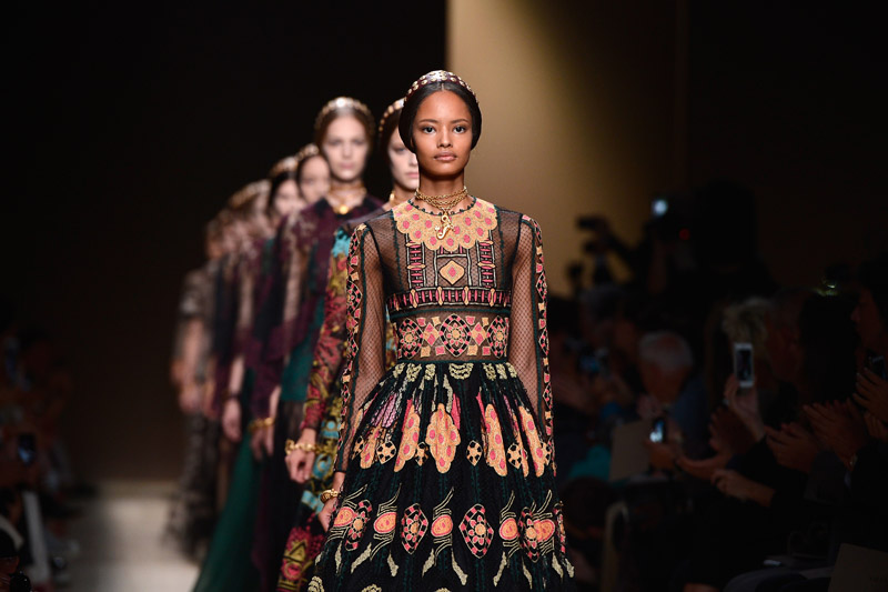 Paris Fashion Week Coverage: Valentino Spring 2014 Collection