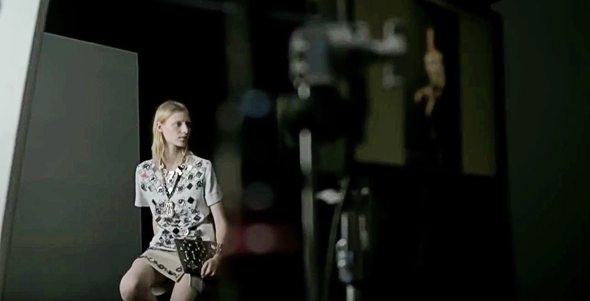 Video Exclusive: Behind the Scenes of the Lanvin Spring/Summer 2014 Campaign