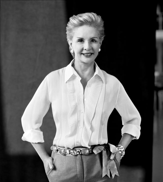 Business Class with Carolina Herrera