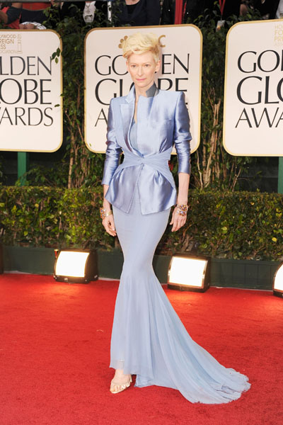 Tilda Swinton's Most Memorable Red Carpet Looks