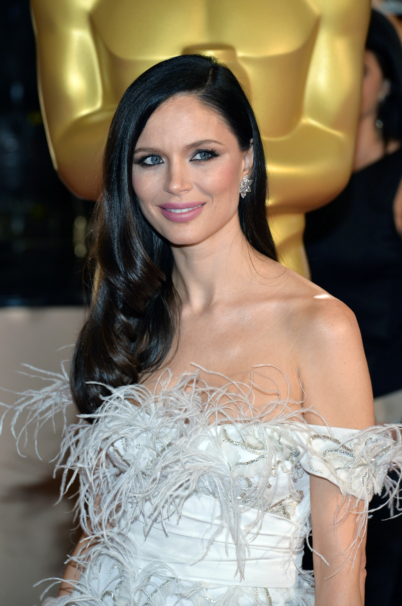 Get the Look: Georgina Chapman's Intense Lined Eyes