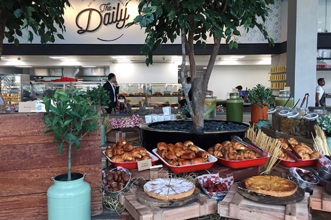 The Daily brunch at Rove downtown dubai