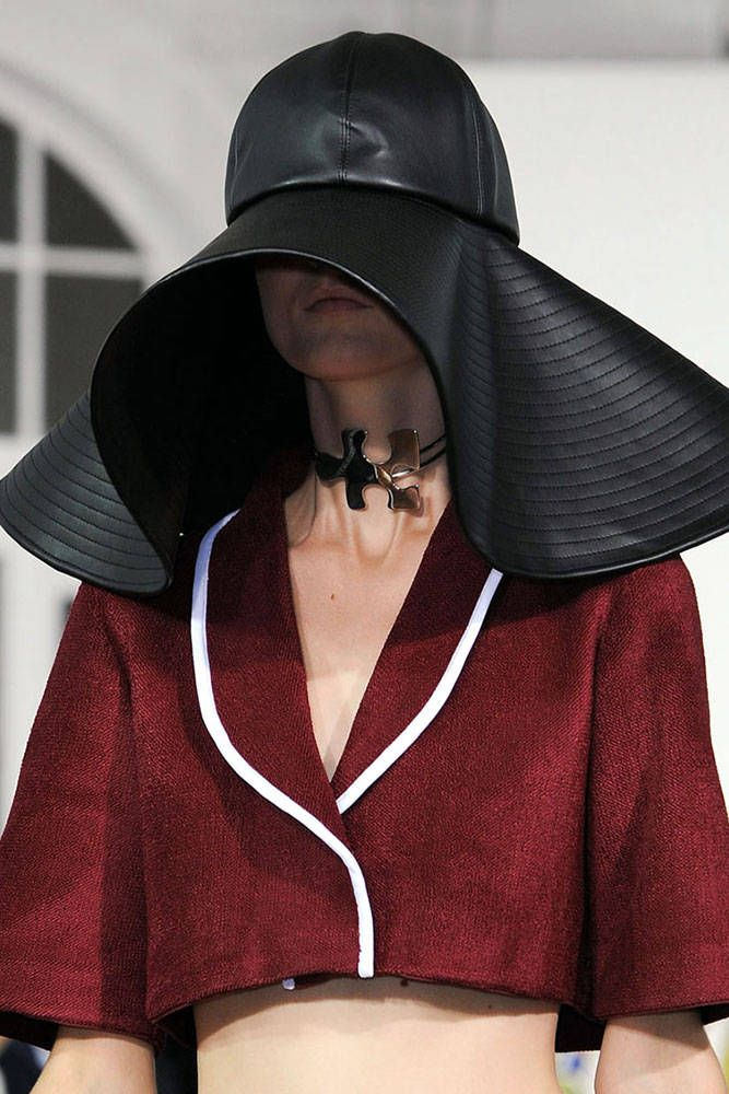 London Fashion Week Coverage: Oversized Hats at J.W. Anderson