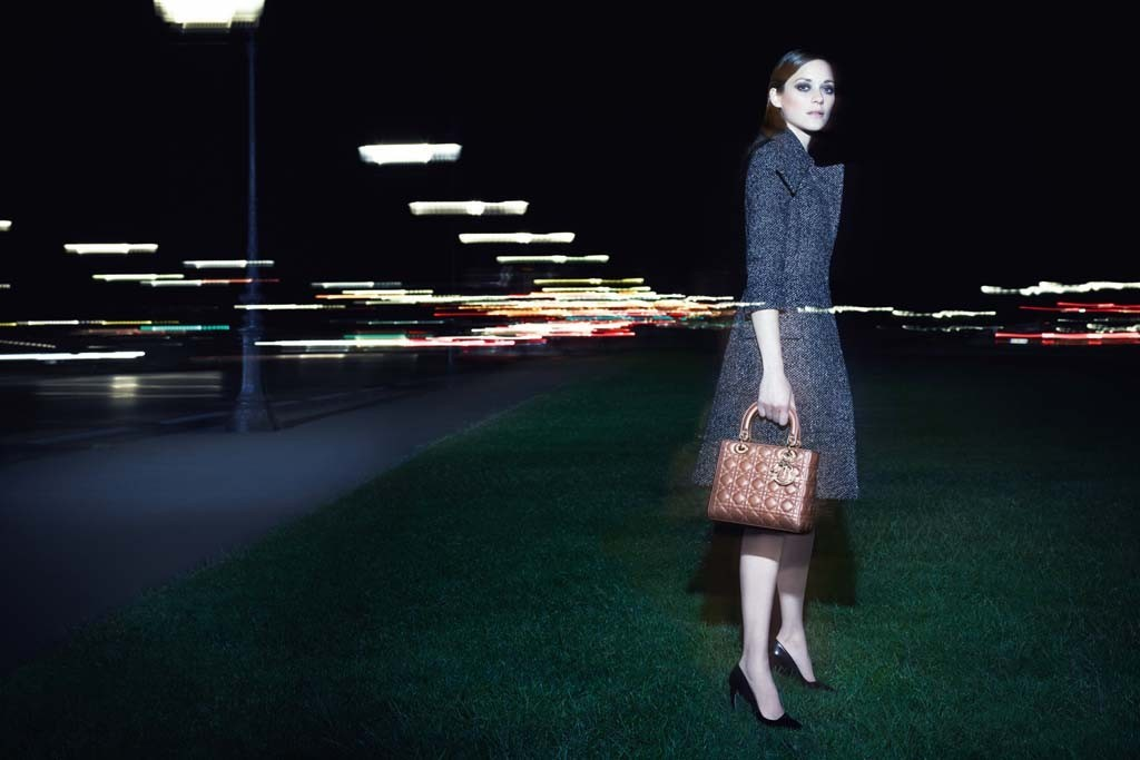 An Exclusive Look at the New 'Lady Dior' Campaign Featuring Marion Cotillard