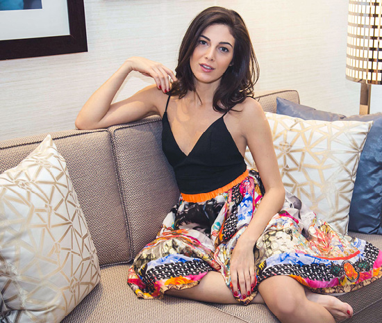 Razane Jammal's Beauty Routine: The Young Lebanese Actress Shares Her Top Tips and Products