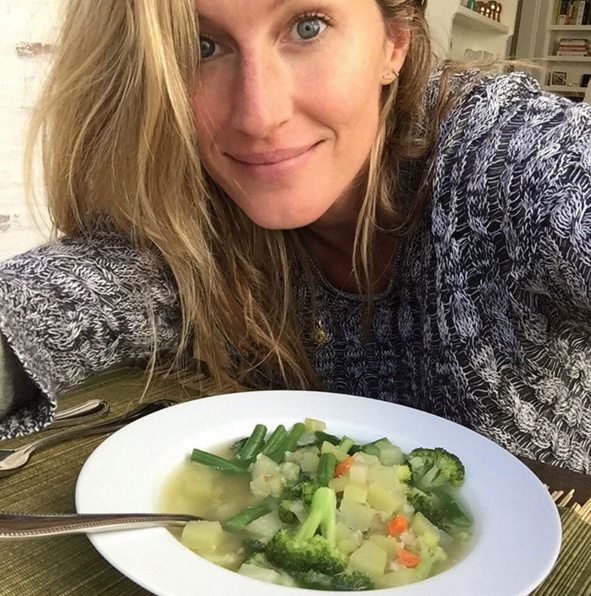 Gisele Bundchen food