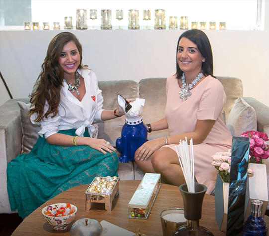 Inside the Home of Sara and Lea Yassine in Downtown Dubai