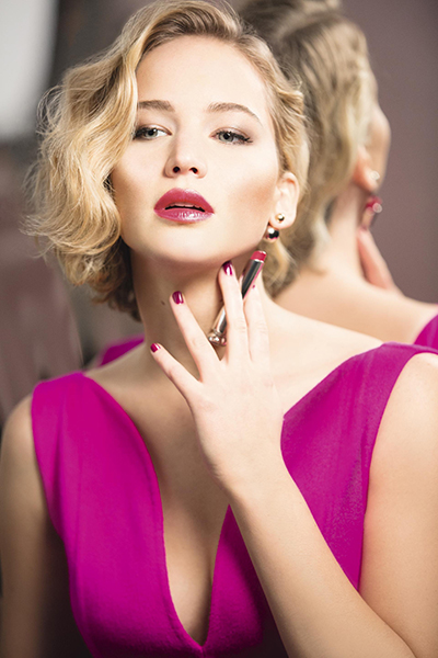 Jennifer Lawrence Beauty Secrets Dior Lipstick Interview