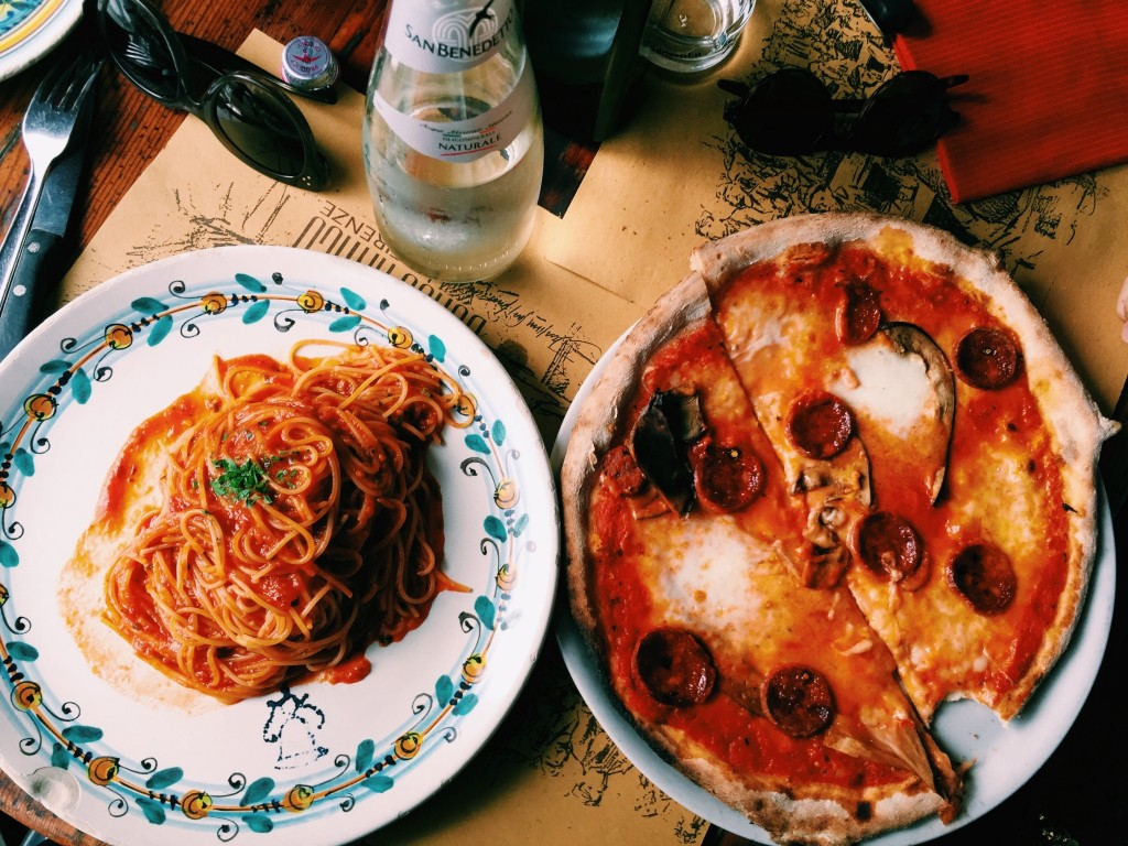 Pizza, Pasta, and Shopping Sprees: Follow Lilian Afshar Around Italy