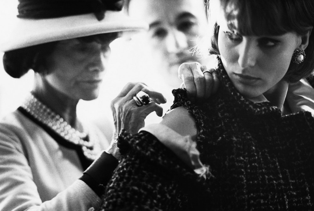 Mademoiselle Chanel in the atelier