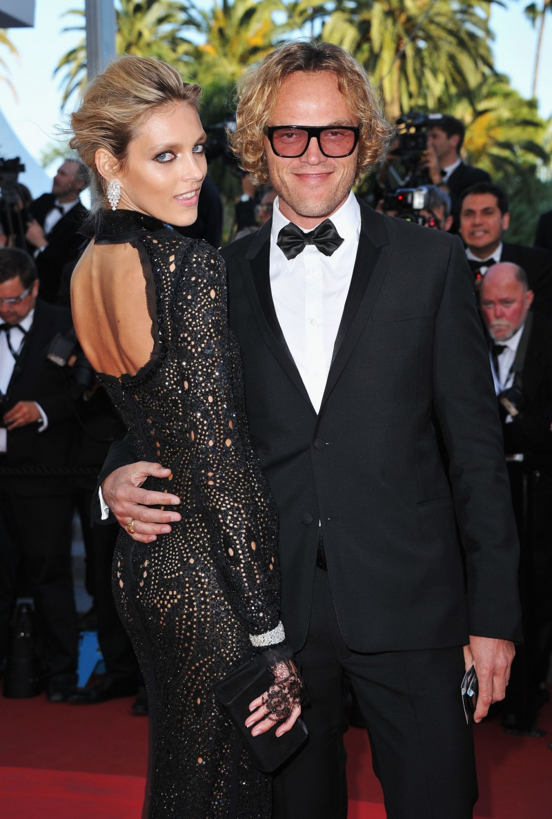 Peter Dundas and Anja Rubik