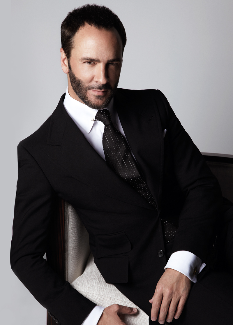 Tom Ford headshot portrait