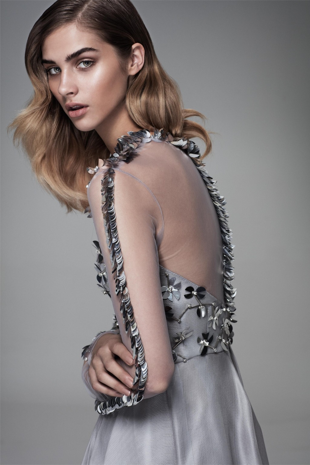 Yasmin Mansour Goes Mad for Metallics for Spring/Summer 2016