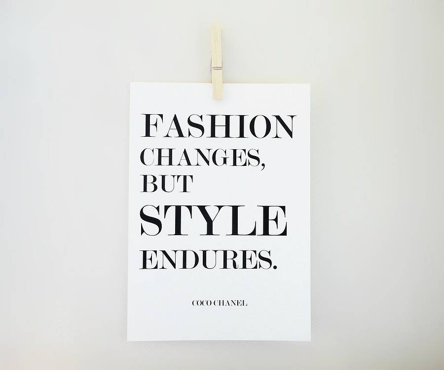 Difference Between Fashion And Style Savoir Flair