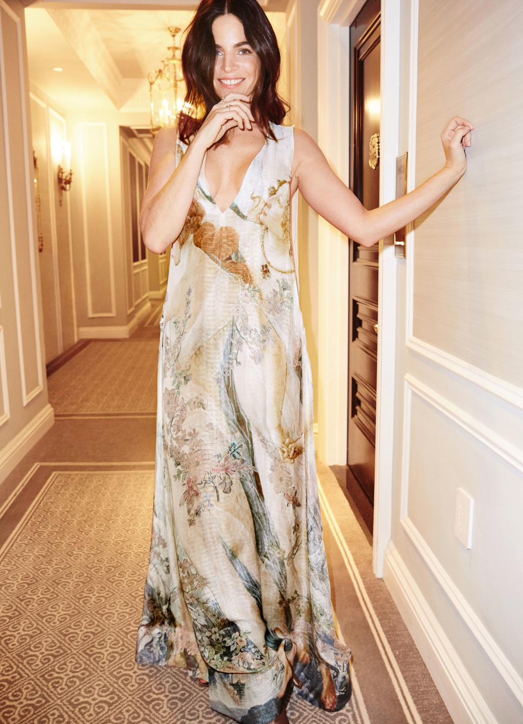 Julia Restoin Roitfeld is the Perfect Muse for the H&M Conscious Exclusive Collection