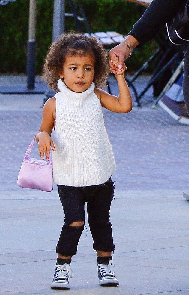 North West Inspires With an Excellent Tip in Accessorizing