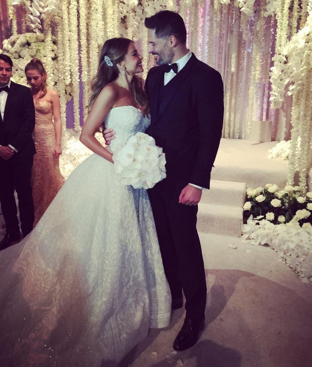 Sofia Vergara Gets Married in a Zuhair Murad Wedding Dress