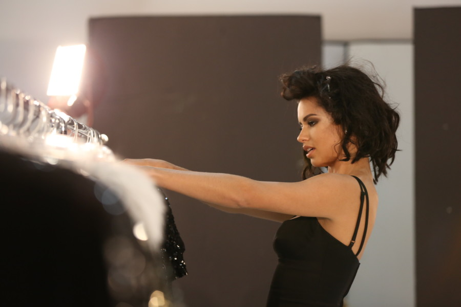 Adriana Lima Marc Jacobs Decadence Behind The Scenes 3