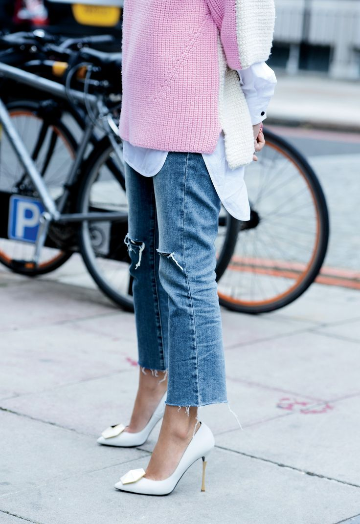 The Right Shoes to Wear With Cropped Flares