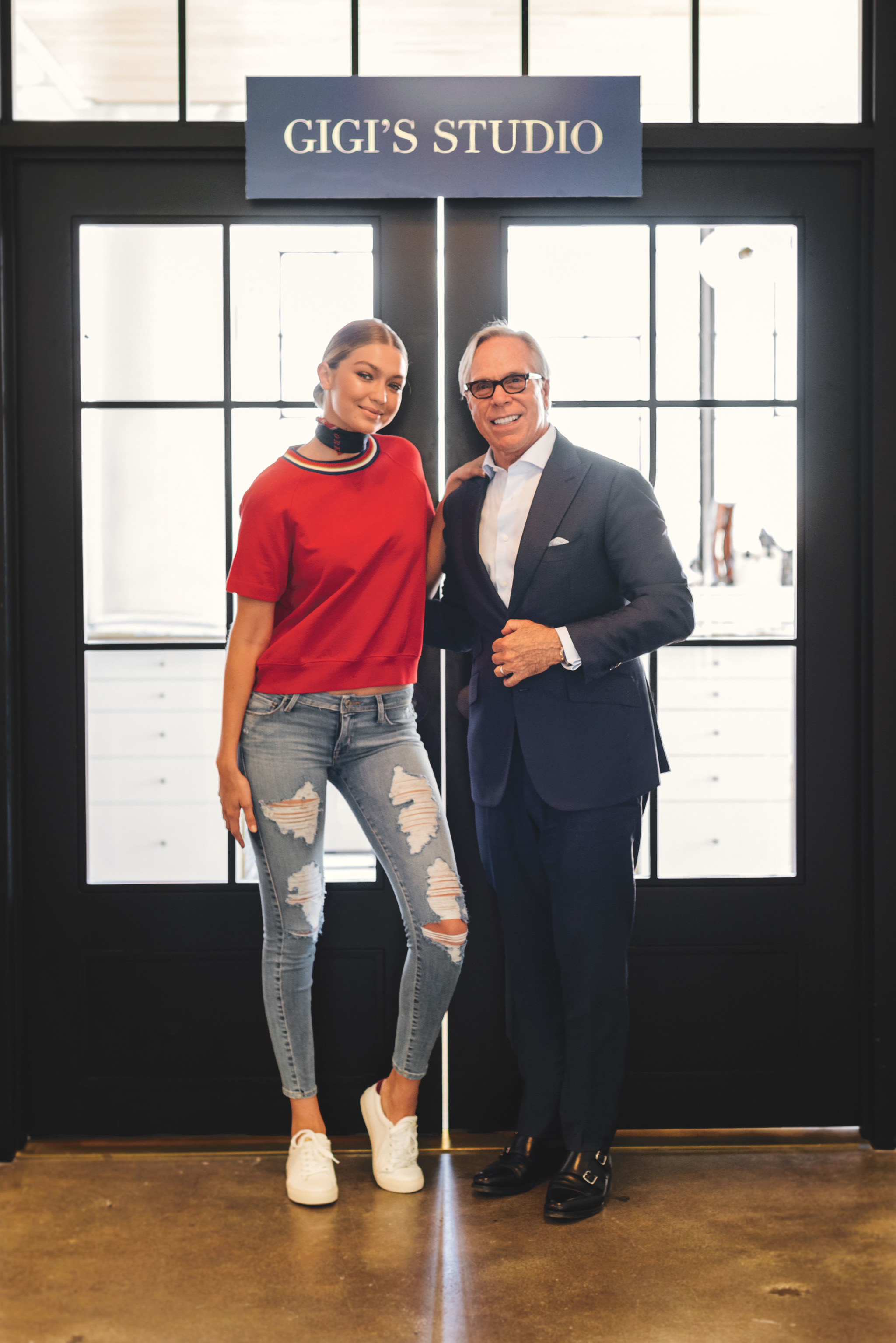 next big thing in fashion Gigi Hadid x Tommy Hilfiger