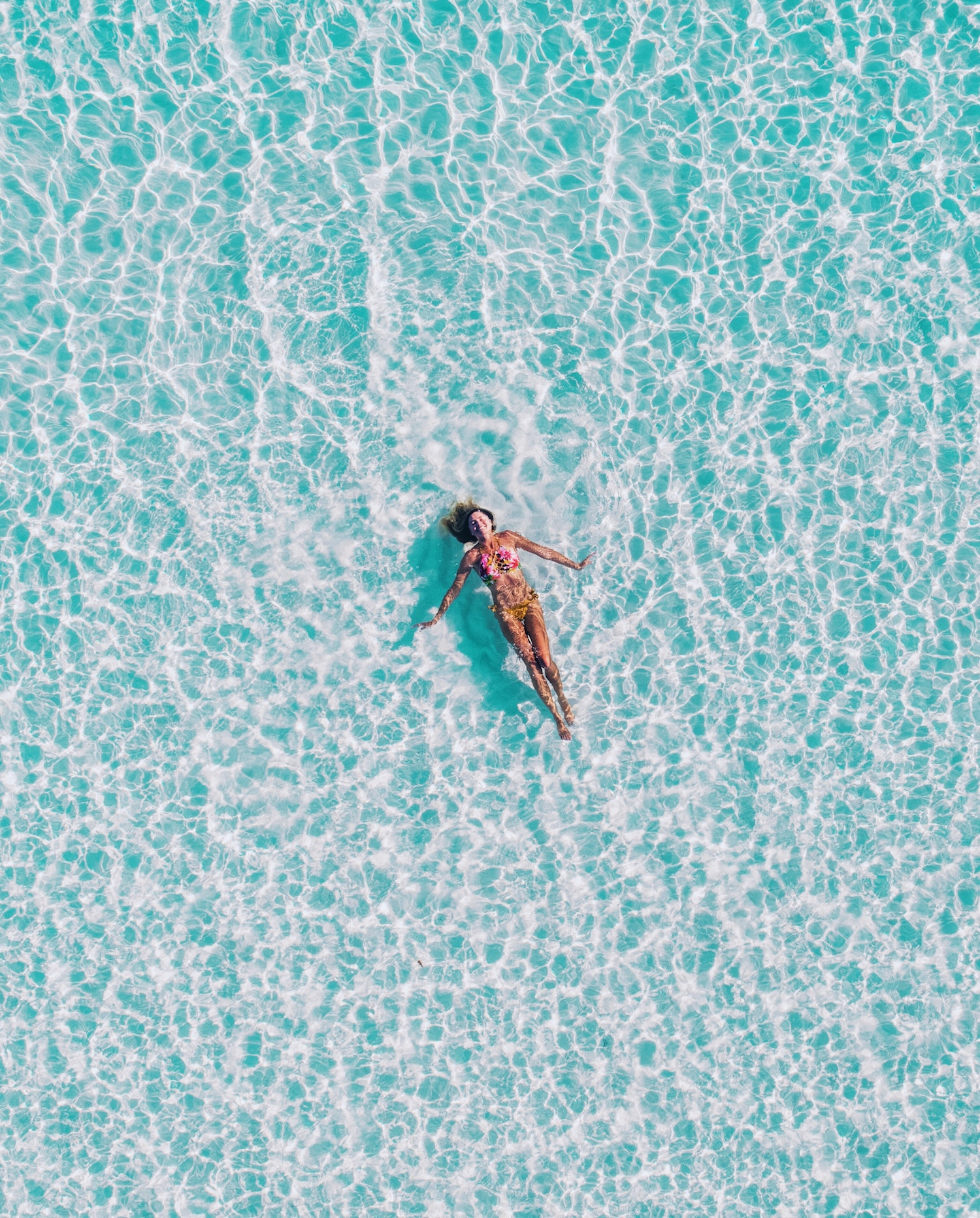 Ishan Seefromthesky girl in water