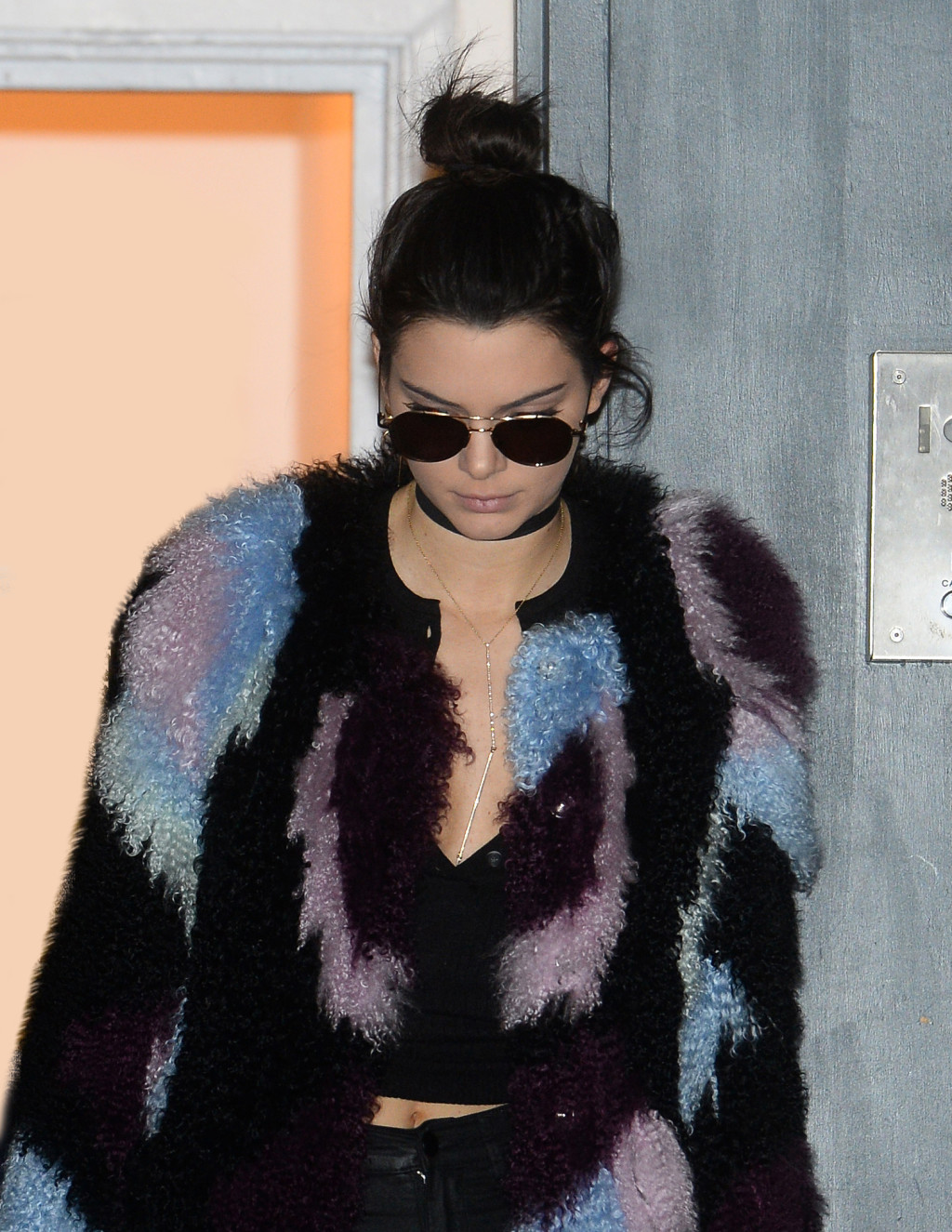Kendall Jenner's Choker Pairing Is on Point