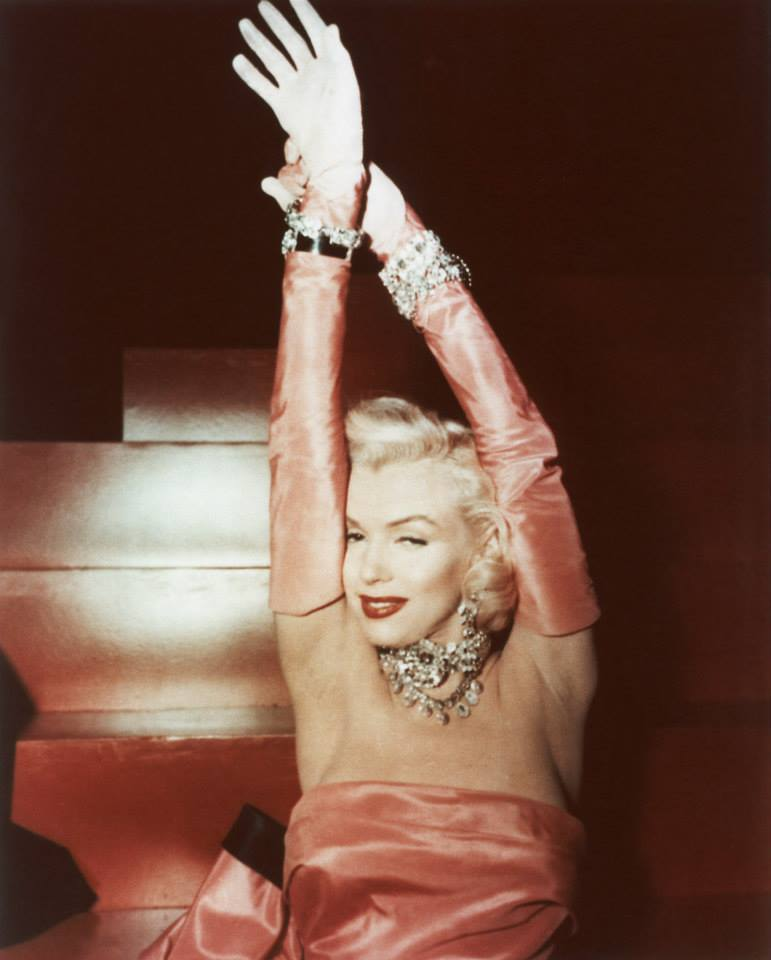 Marilyn Monroe Diamonds Are A Girl's Best Friend