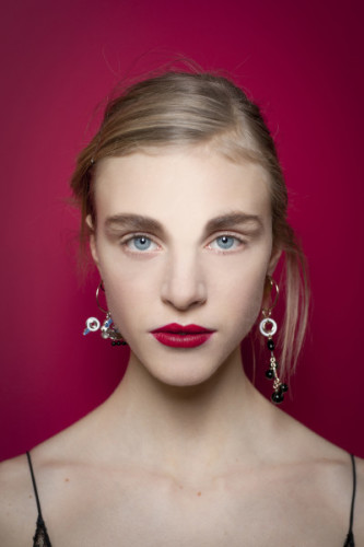 Backstage Dior Couture Beauty 2016 Red Lip