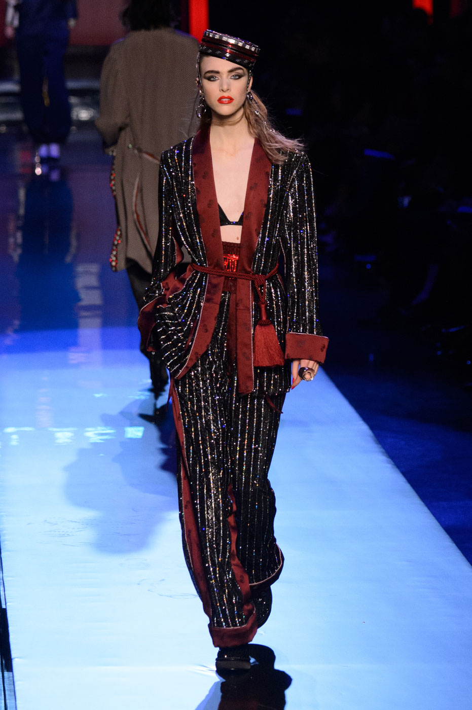 Jean Paul Gaultier Resurrects the 1980s for Spring 2016 Couture