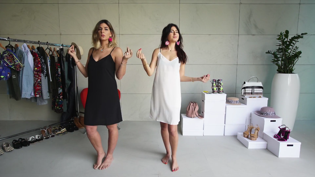 BFF Fashion Battle: Ayah Tabari and Alia Al Sadek Style the Slip Dress