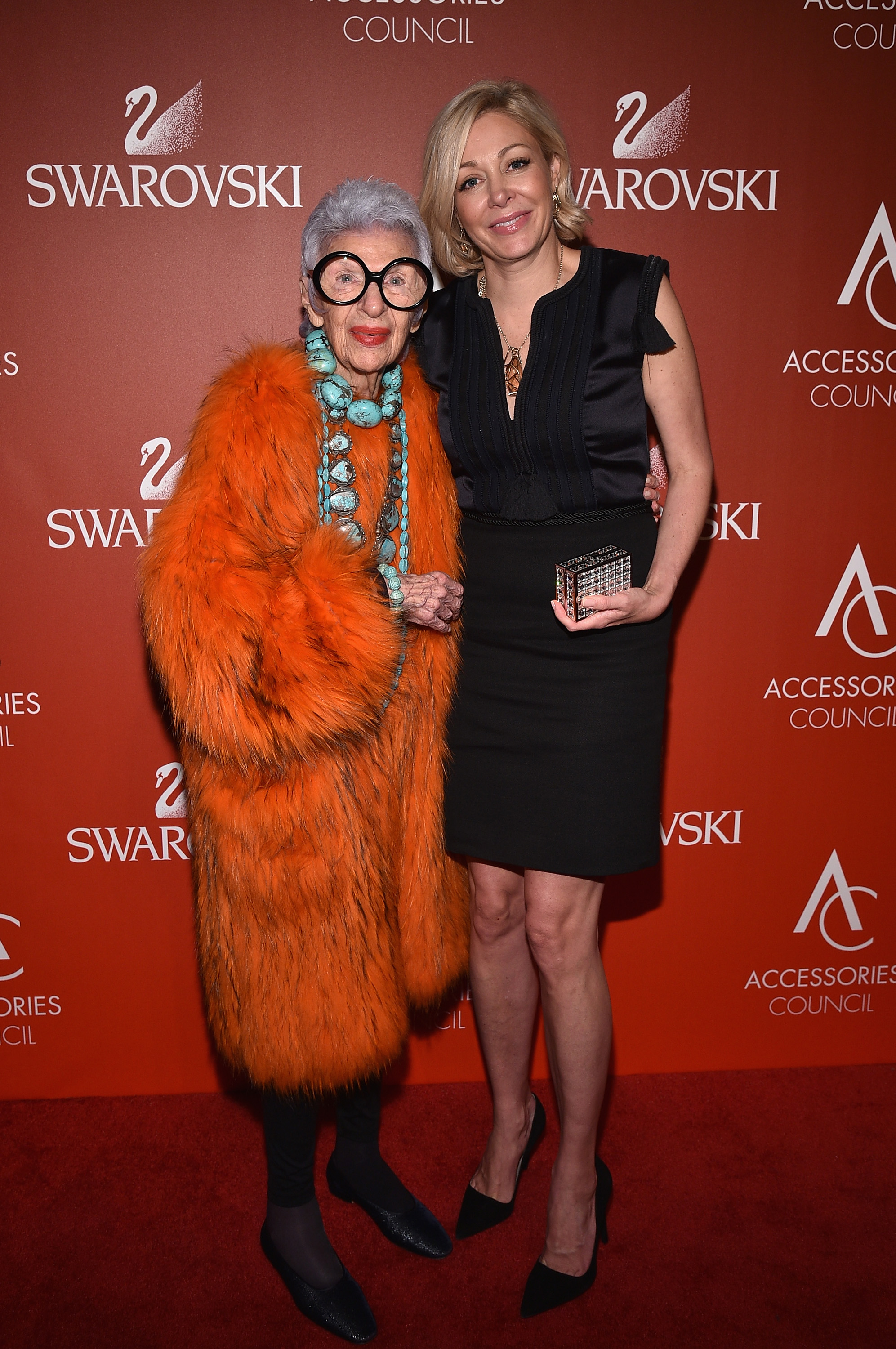 Nadja Swarovski and Iris Apfel