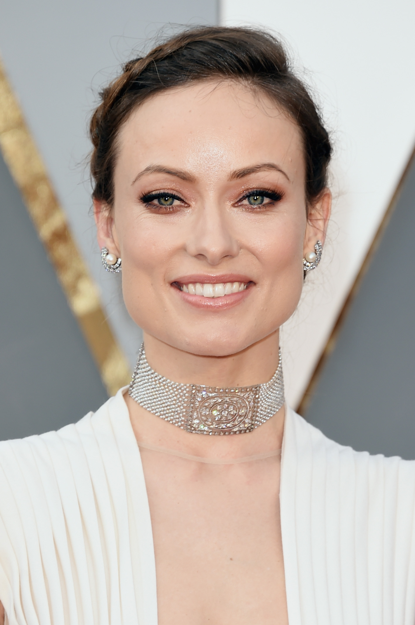 Olivia Wilde Oscars jewellery 88th Annual Academy Awards - Arrivals