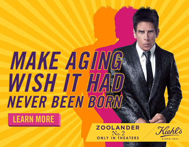 Watch These Hilarious Videos Courtesy of Zoolander 2 and Kiehl's