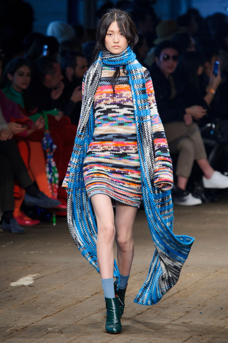 Missoni's Inventive Knitwear Makes for a Festive Fall 2016 Collection