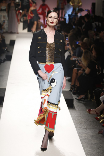 Milan Fashion Week Coverage: Moschino Spring 2014 Collection